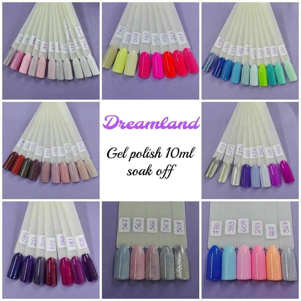 Dreamland nails application