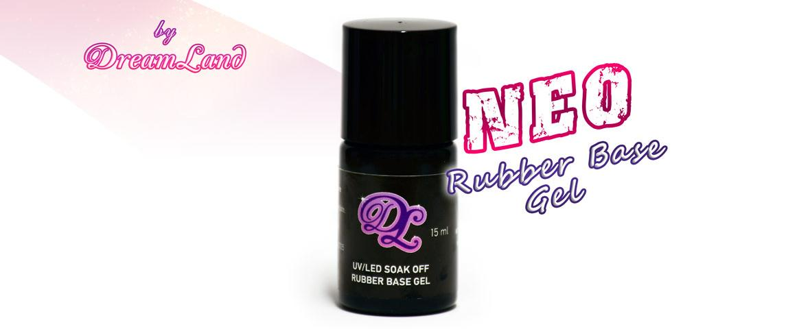 New Rubber Base Gel